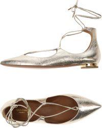 Aquazzura - Ballet Flats - Lyst
