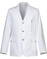Harmont & Blaine Suit Jacket - White