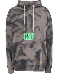 Caterpillar Sweatshirt - Grey