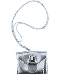 MM6 by Maison Martin Margiela Key Ring - Metallic