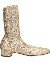 Dolce & Gabbana - Ankle Boots - Lyst