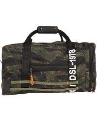 DIESEL Travel Duffel Bags - Black