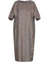 Agnona Knee-length Dress - Multicolour