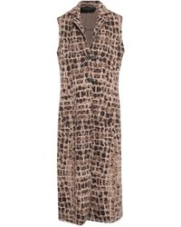 Fontana Couture Coat - Brown