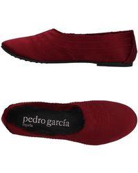 Pedro Garcia Ballet Flats - Red