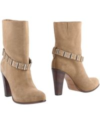 Sartore Ankle Boots - Natural