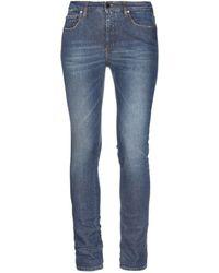 Victoria Beckham Denim Pants - Blue
