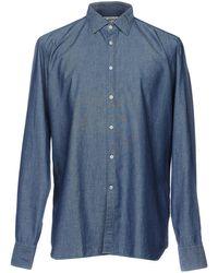 Bevilacqua Denim Shirt - Blue