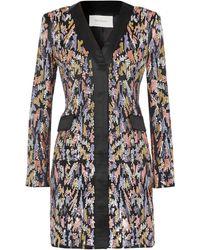 SemSem Short Dress - Black