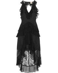 Haute Hippie Short Dress - Black