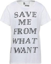 5preview Camiseta - Blanco
