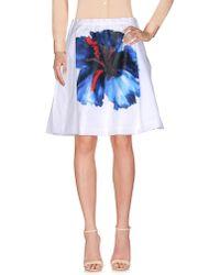 DSquared² - Knee Length Skirt - Lyst