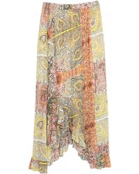 JEFF 3/4 Length Skirt - Yellow