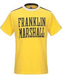 Franklin & Marshall Camiseta - Amarillo