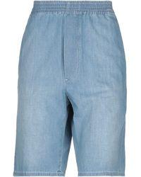 MM6 by Maison Martin Margiela Denim Shorts - Blue