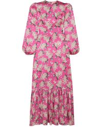 The Vampire's Wife Long Dress - Pink