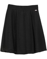 Armani Exchange Midi Skirt - Black