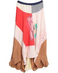 Marni Long Skirt - Pink