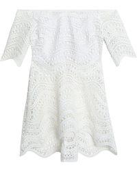 Lela Rose Bluse - Weiß