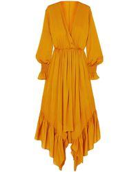 ARJE Midi Dress - Orange