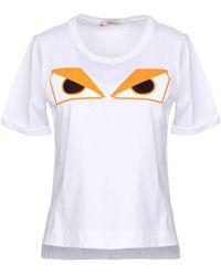 Fendi - T-shirt - Lyst