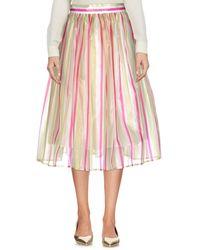 Tonello 3/4 Length Skirt - Green