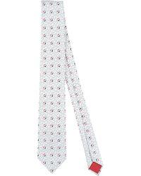 Prada Nœuds papillon et cravates - Blanc