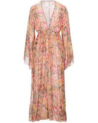 Anjuna Long Dress - Pink