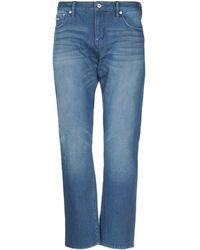 Superdry Pantaloni jeans - Blu