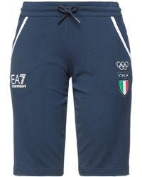 EA7 Shorts & Bermuda Shorts - Blue