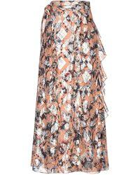 Diane von Furstenberg Long Skirt - Multicolor