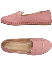 Charlotte Olympia Ballerines - Rose