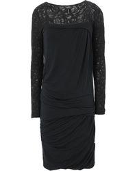 Byblos Vestido midi - Negro