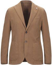 Luigi Bianchi Mantova Suit Jacket - Brown