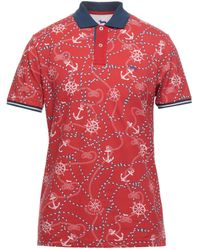 Harmont & Blaine Polo Shirt - Red