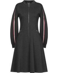 Sfizio Knee-length Dress - Gray