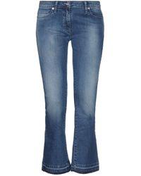 Blumarine Denim Pants - Blue