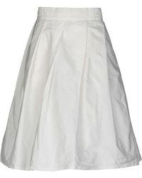 Daniela Gregis - Knee Length Skirt - Lyst