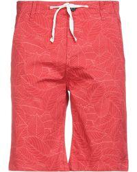Pepe Jeans Bermuda Shorts - Red