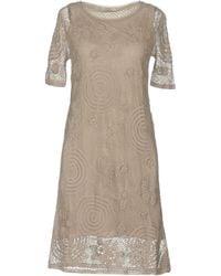 Alpha Massimo Rebecchi - Short Dress - Lyst