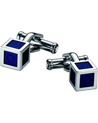 Montblanc Cufflinks And Tie Clips - Blue
