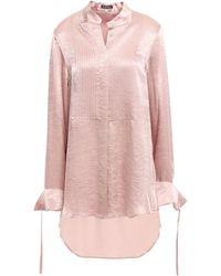 Ann Demeulemeester Camisa - Rosa