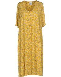 Cinzia Rocca Knee-length Dress - Yellow