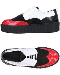 MM6 by Maison Martin Margiela Chaussures à lacets - Rouge