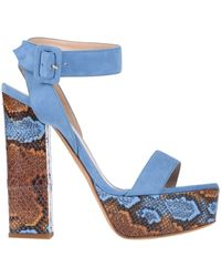 Luciano Padovan Sandals - Blue