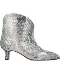 Paris Texas Ankle Boots - Grey