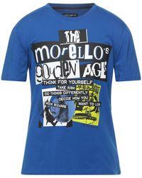 Frankie Morello Camiseta - Azul