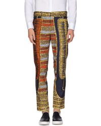 Stella Jean Printed Cropped Trousers - Multicolour