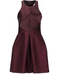 Halston - Robe courte - Lyst