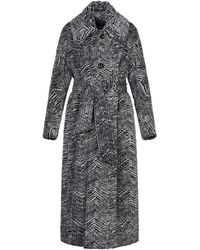 DSquared² Polyester Coat - Grey